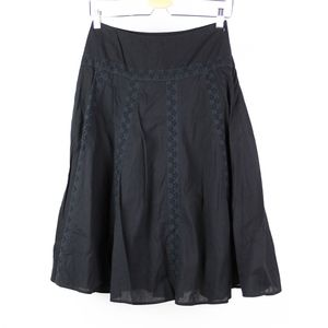Used, Laredoute Womens Skirt Size 4 Black for sale